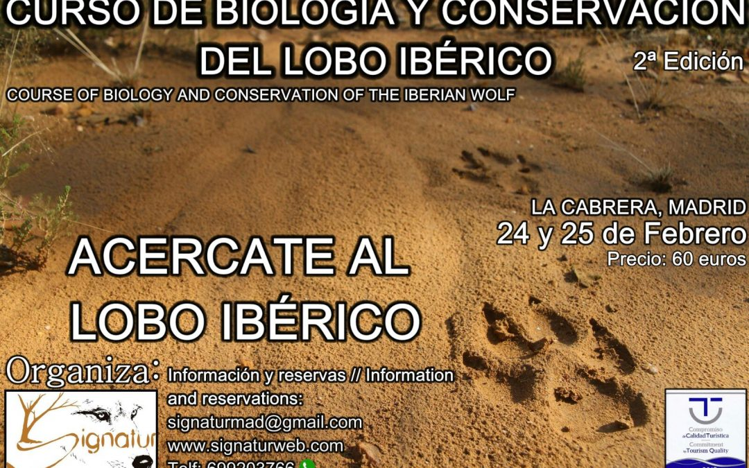 Curso de Biología y Conservación de LOBO IBÉRICO