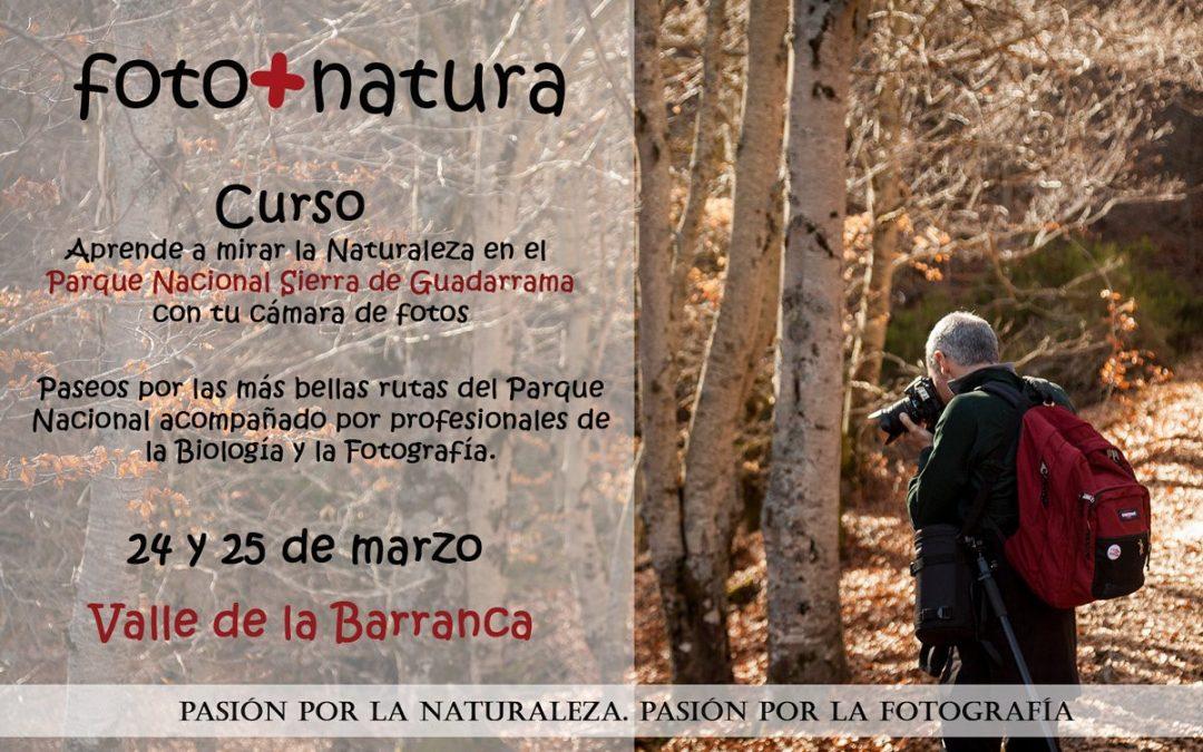 Curso de FOTOGRAFÍA Y NATURALEZA