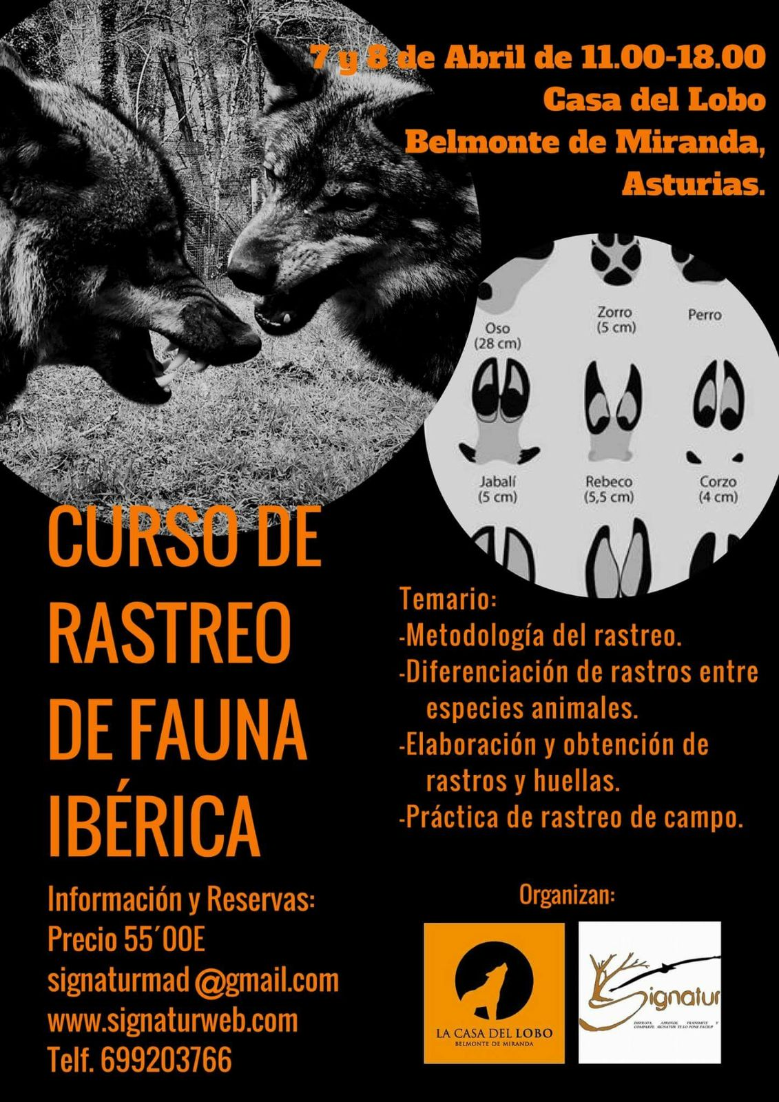 Rastreo Fauna Ibérica